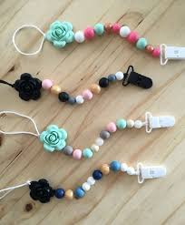 baby teething necklace silicone images 63 best silicone necklaces images pacifier clips jpg