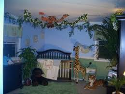 Safari Themed Nursery Decor Baby Room Decor Nursery Decorating Ideas Monkey