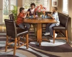 Corner Pub Table Foter - Kitchen bar table set