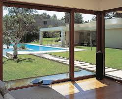 Sliding Glass Doors Patio Patio Sliding Glass Doors With Contemporary Swimming Pool Design