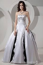 black and white corset wedding dresses snowybridal com
