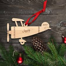 airplane wooden ornament graphic spaces