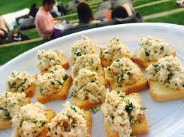 crab canapes crab canapes robby cooks