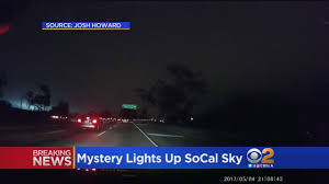 light in sky today social media asking what was that light in the la sky cbs los