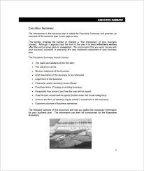 Free Excel Business Plan Template Business Plan Template 5 Free Business Plan Templates Excel Pdf