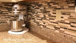 Kitchen Backsplash Installation Cost Installing A Pencil Tile Backsplash And Cost Breakdown The For