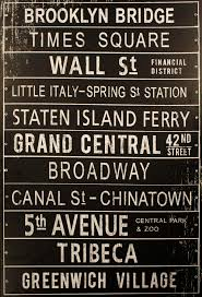 Home Decor New York by Nyc Subway Sign Home U0026 Garden Pinterest Nyc Subway