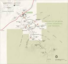Map Of Oregon State Parks by Craters Of The Moon Volcano World Oregon State University