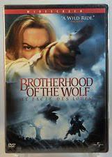 the brotherhood of the wolf dvd canadian bilingual ebay