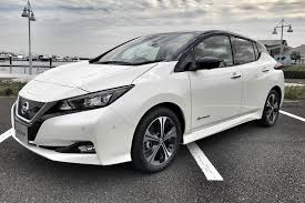 nissan minivan 2018 an early preview drive in the 2018 nissan leaf by car magazine