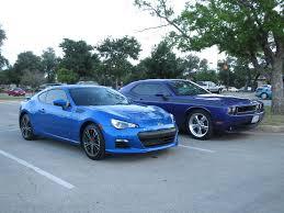 classic subaru subaru brz wr blue and dodge challenger r t classic plum c u2026 flickr
