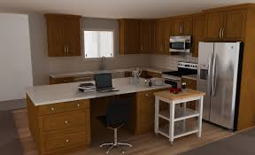 kitchen desk area in kitchen white kitchen cart with stainless