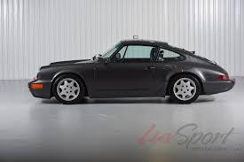 porsche slate gray 1990 porsche 964 carrera 4 coupe stock 1990128 for sale near new