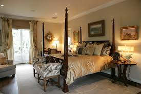 Bed Placement In Bedroom Marvelous Round Nightstand In Bedroom Traditional With Picture