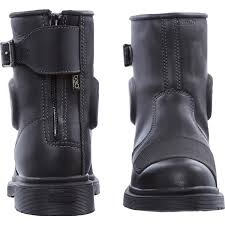 motorcycle boots uk dr martens black leather faris biker boots uk 6 amazon co uk