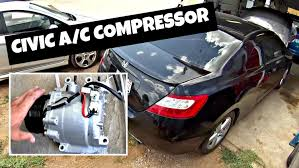 2007 honda civic si clutch replacement cost how to remove and replace a c compressor on honda civic 2006 2011