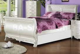 Off White Bedroom Furniture Sets White Queen Bedroom Set Aurora White Queen Size Bed Photo 1