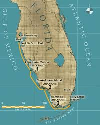 Everglades Florida Map by The 2014 Everglades Challenge Small Boats Monthly
