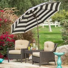 Design For Striped Patio Umbrella Ideas Glamorous Black And White Patio Umbrella Striped Home Designs Idea