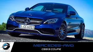 blue mercedes mercedes amg c63 s coupe cavansite blue walkaround