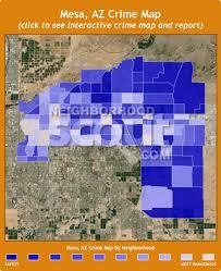 mesa az map mesa crime rates and statistics neighborhoodscout