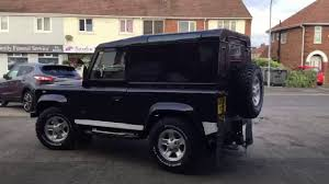 land rover defender matte black extemely rare land rover defender 90 black edition hardtop