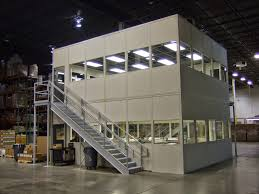 warehouse design modular offices ak material handling systems