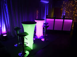 led furniture hire more weddings