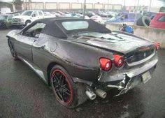salvage corvette for sale wrecked cars for sale repairable salvage f430