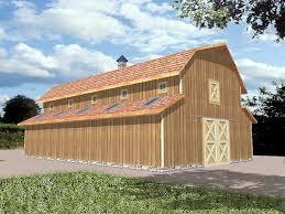 pole barn plan 86875 at familyhomeplans com
