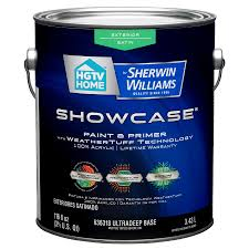 shop hgtv home by sherwin williams showcase tintable satin latex