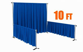 Free Standing Drapes Portable Photo Booth Pipe And Drape Stands Photo Booth Enclosure