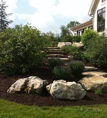 rock landscaping design western lehigh center valley pa