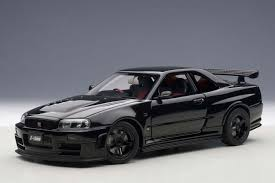 nissan gtr all models autoart die cast model nissan r34 gt r z tune skyline black