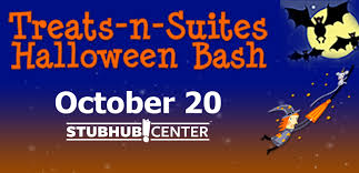 treats n suites halloween bash stubhub center