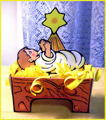 serendipity hollow baby jesus in a manger