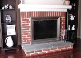 paint colors with red brick fireplace home design ideas