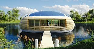 Eco House Design The Waternest Floating House Eco Friendly Housing By Giancarlo