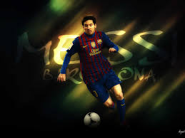 football super star player lionel messi new hd wallpapers 2013