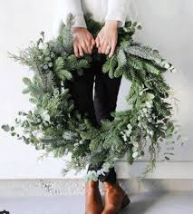 fresh wreaths fresh pine wreaths mint studio