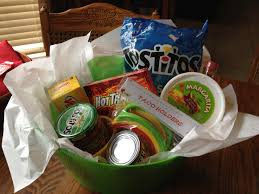 themed basket cinco de mayo themed basket bunko prize or great for raffles