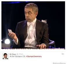 Mr Bean Thanksgiving Mr Bean Actually Tweeted This During The Olympic Opening Ceremony