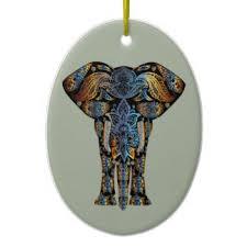 indian elephant ornaments keepsake ornaments zazzle