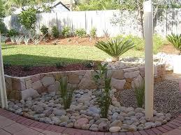 river rock garden edging home decor u0026 interior exterior