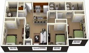 3 bedroom home plans 5 bedroom house plans 3d awesome 3 bedroom apartment house plans