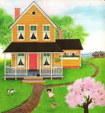 dream house drawing for children drawing sketch library