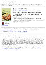 n ociation cuisine schmidt modulation of antioxidant enzymatic activities by certain