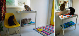 Ikea Changing Table Hack Ikea Hack Changing Table Turned Cat Perch Hauspanther