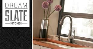 pfister faucets kitchen win a slate kitchen pfister faucets kitchen bath design