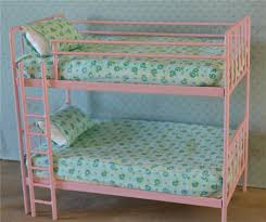 Dolls Bunk Beds Uk Doll Bunk Bed Miniature Metal Bed Playscale Blythe